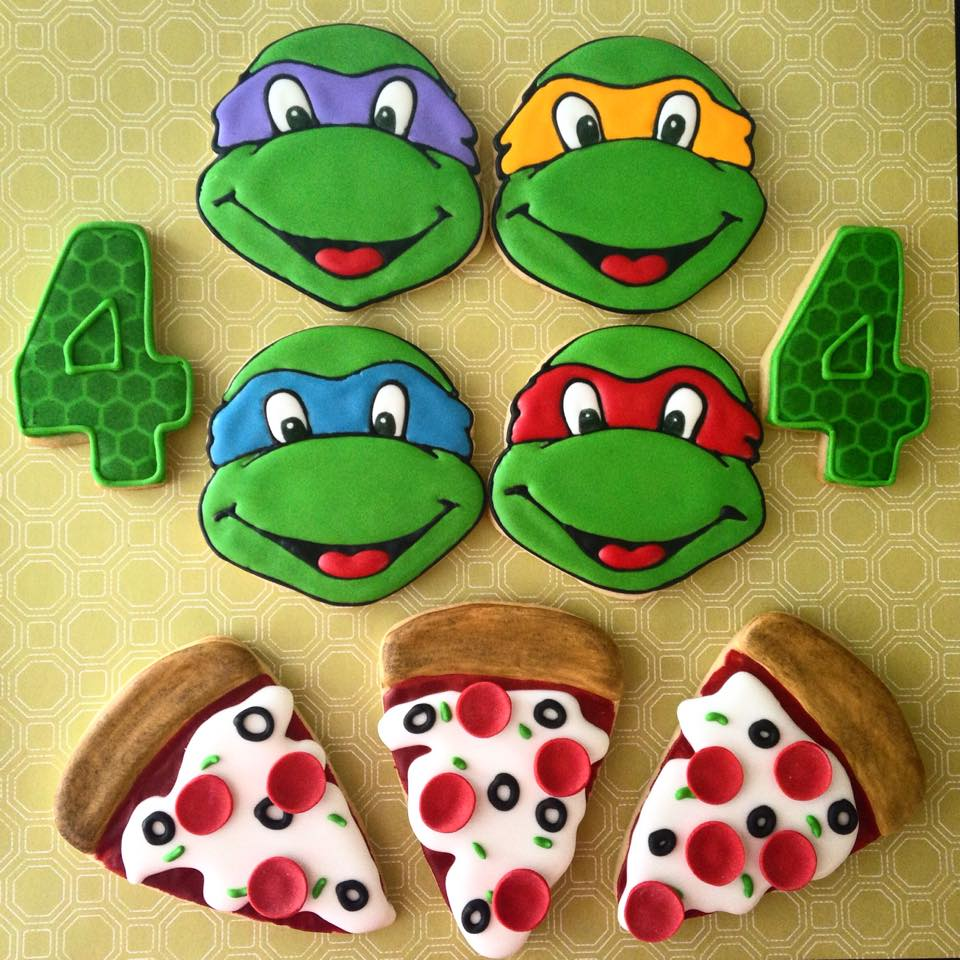 Ninja Turtles Cookies Miami
