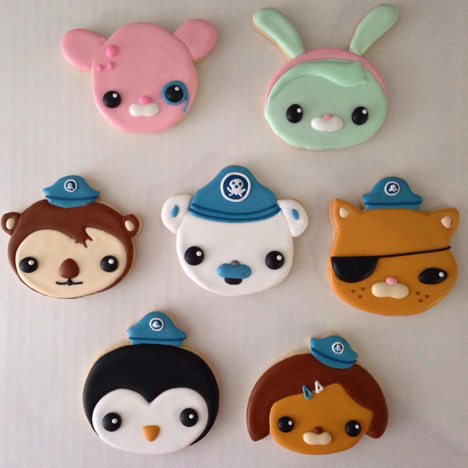 Octonauts Cookies Miami