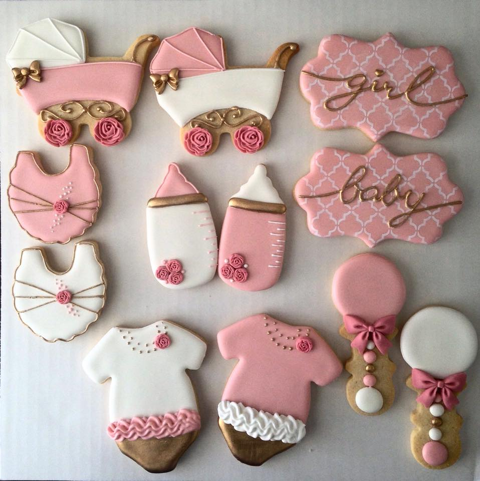 Baby Shower Cookies Miami