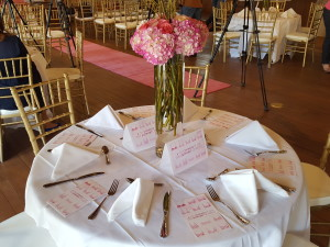 Orgullosa Breast Cancer Awareness Event Tables