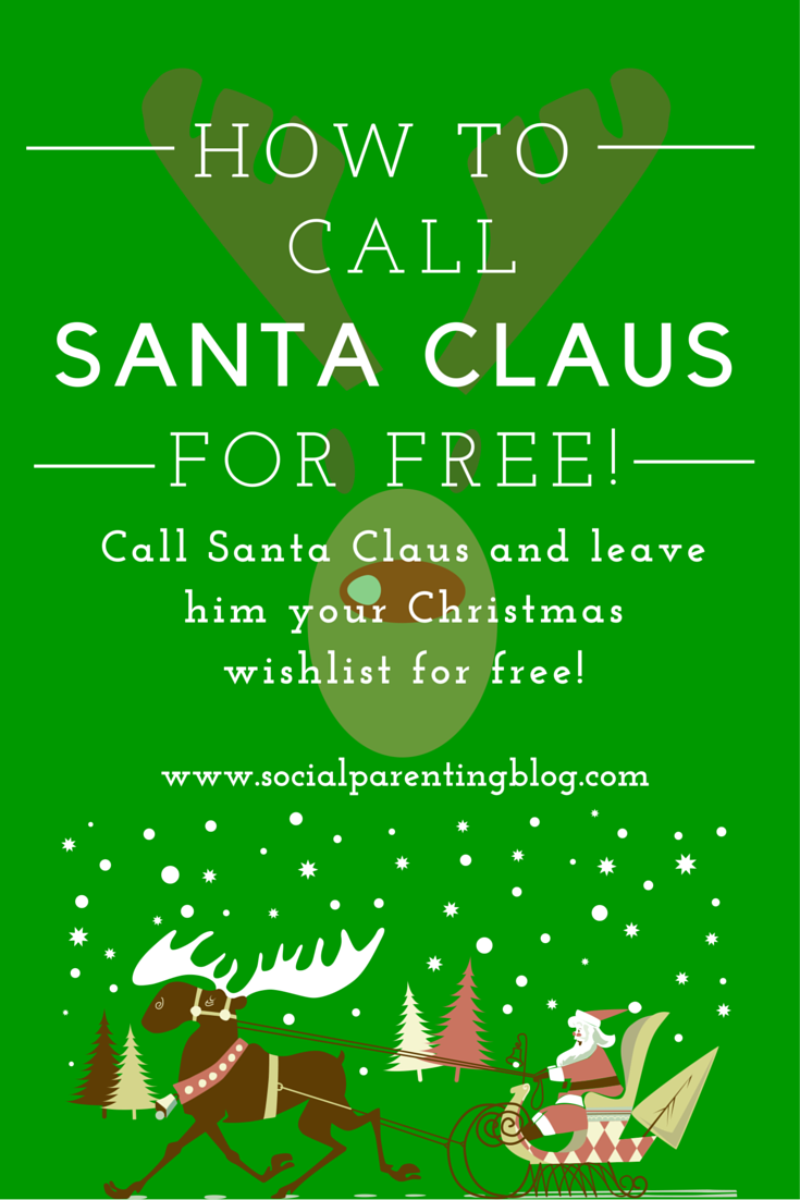 Call Santa Claus for FREE!