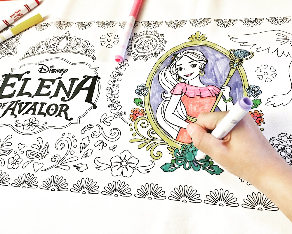 Elena of Avalor Table Runner