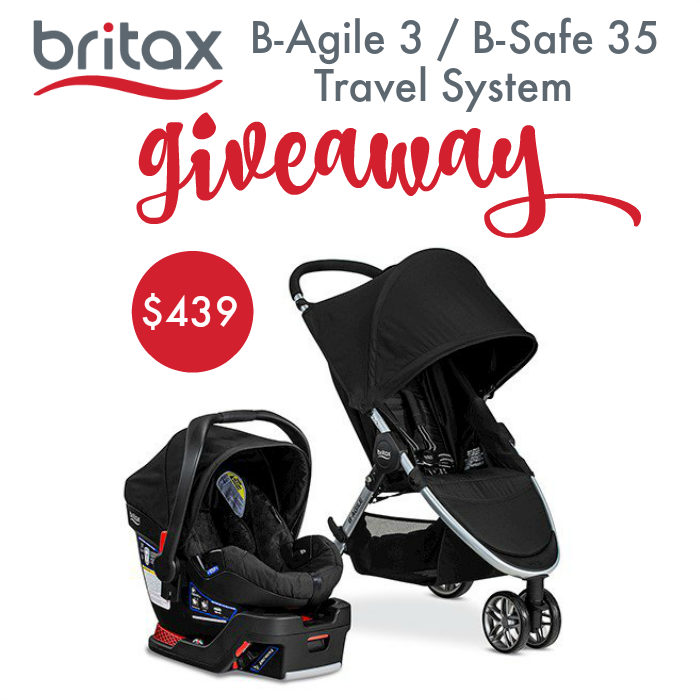 Britax B-Agile 3 B-Safe Travel System Giveaway