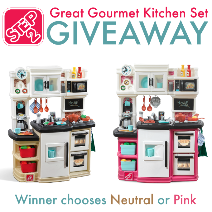 Step2 Great Gourmet Kitchen Giveaway