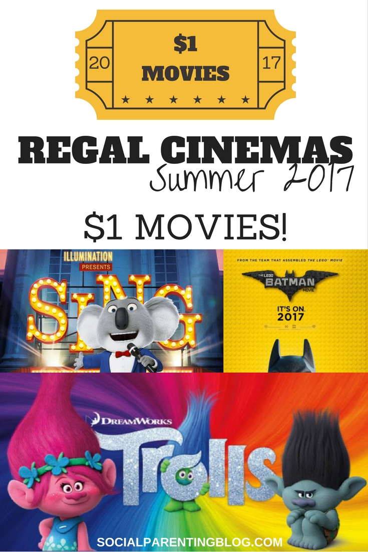 Regal Cinema's Summer Movie Express schedule is here and it is jammed packed with family favorite movies. Take a break from summer each Tuesday and Wednesday this summer at take in a 10 am movie at Regal Cinema for only $1.