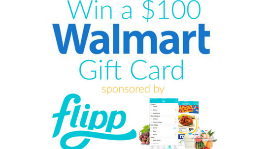 Walmart $100 Gift Card Giveaway