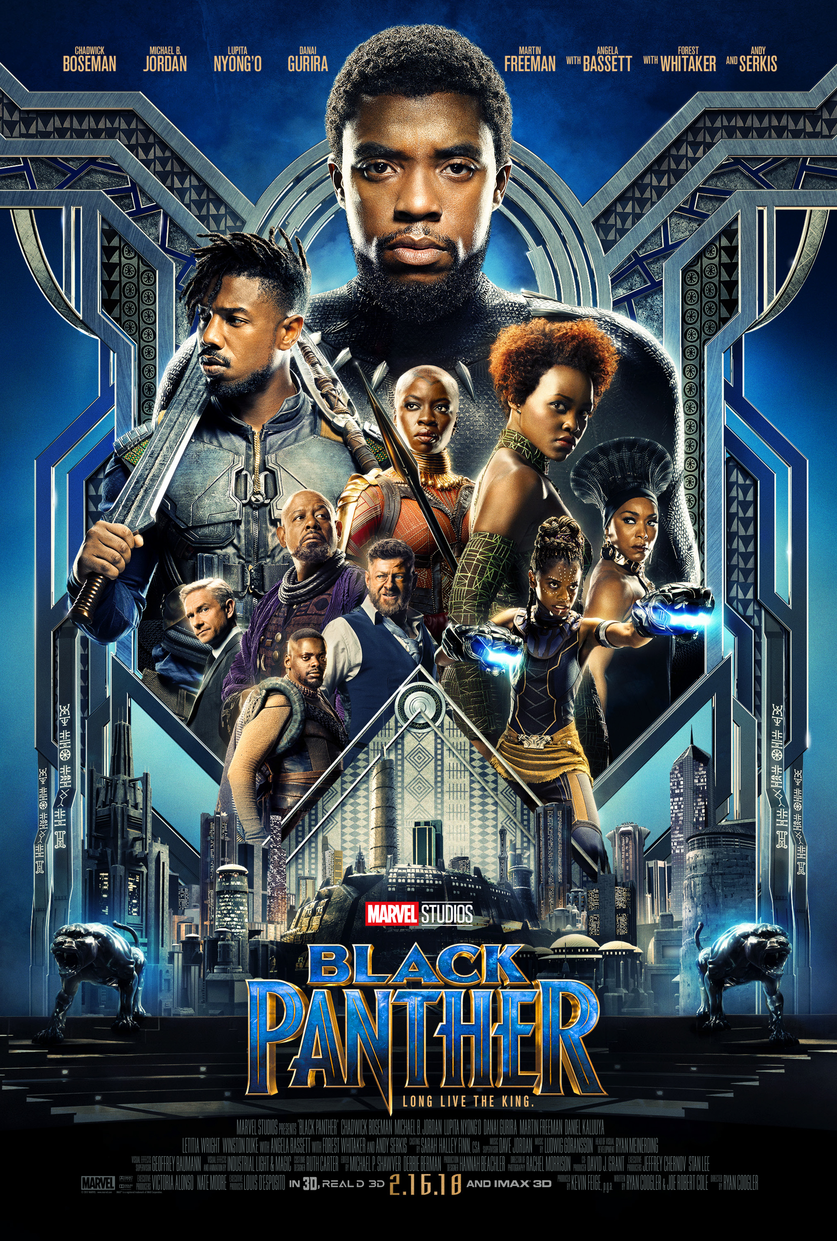 Black Panther Poster-2018 Disney Movies