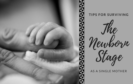 Single mother tips surviving the newborn stage social parenting miami mom blogger