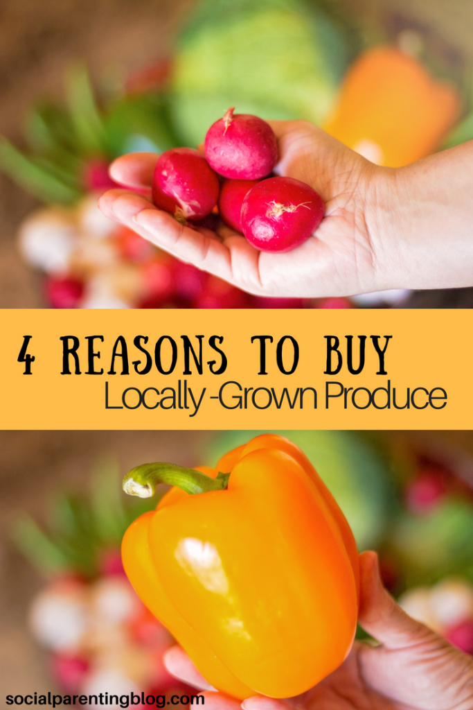 4 Reasons to Buy Locally Grown Produce + What's in Season?