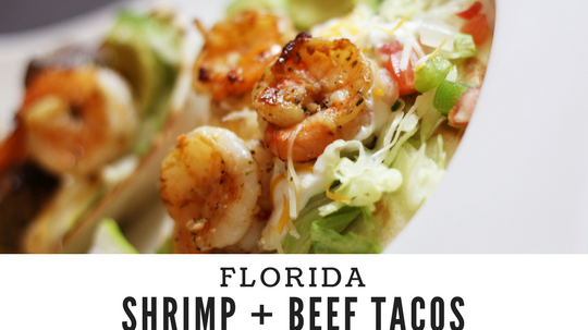shrimp and beef tacos recipe