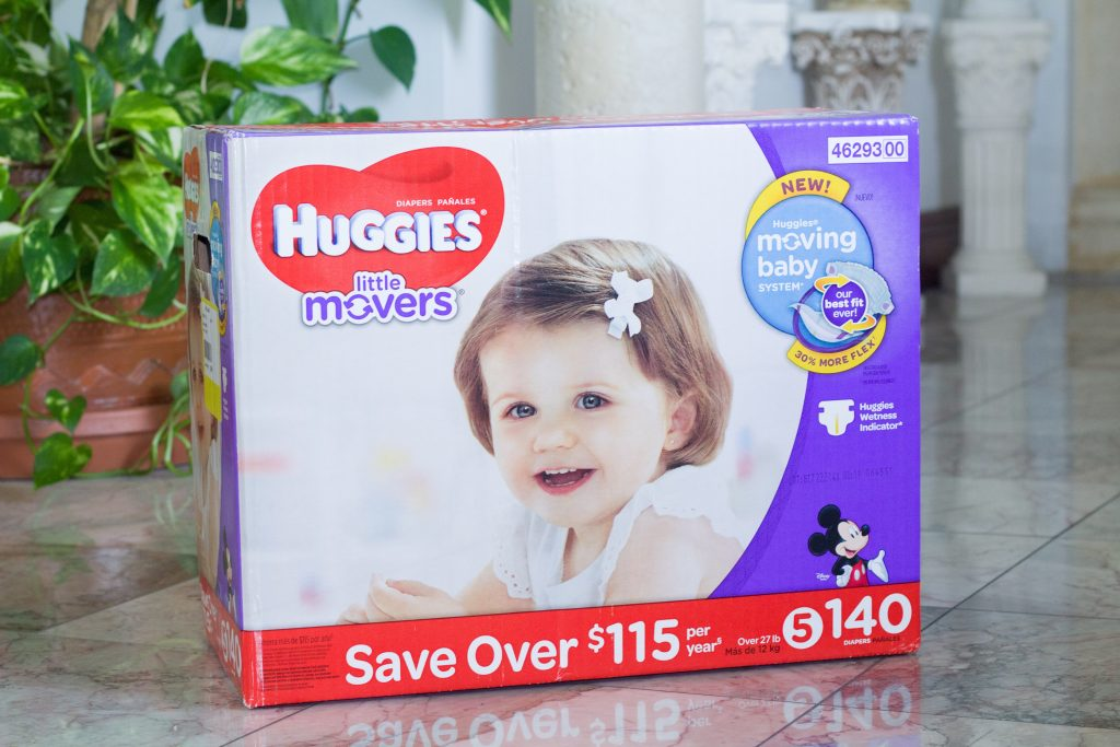 Diapers are a great baby shower gift!