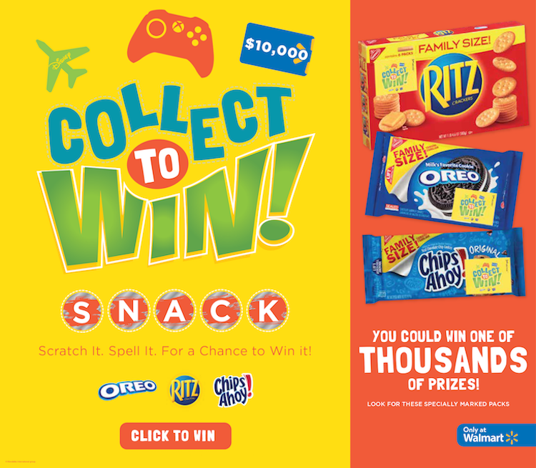 Collect to Win at Walmart!