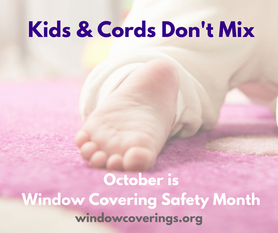 Kids and Cords don't mix | Childproof your Windows and Home