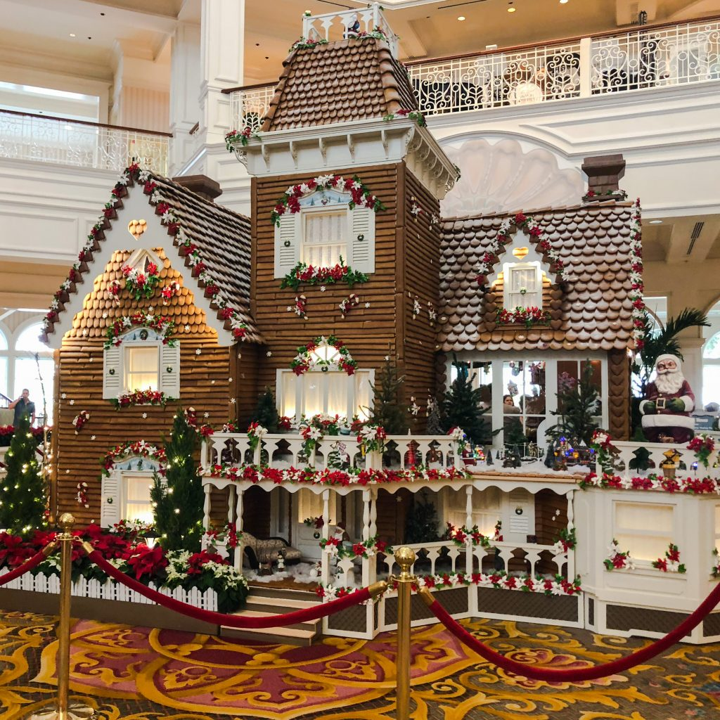 Disney's Grand Floridian Resort & Spa Gingerbread House!