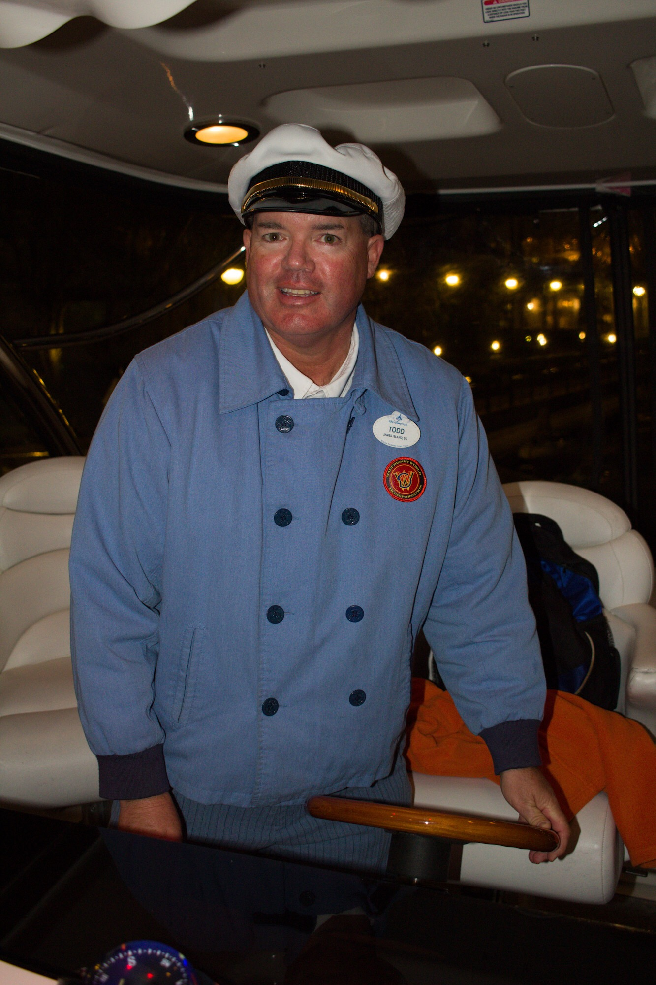 Todd -- Captain of the Grand 1 Yacht