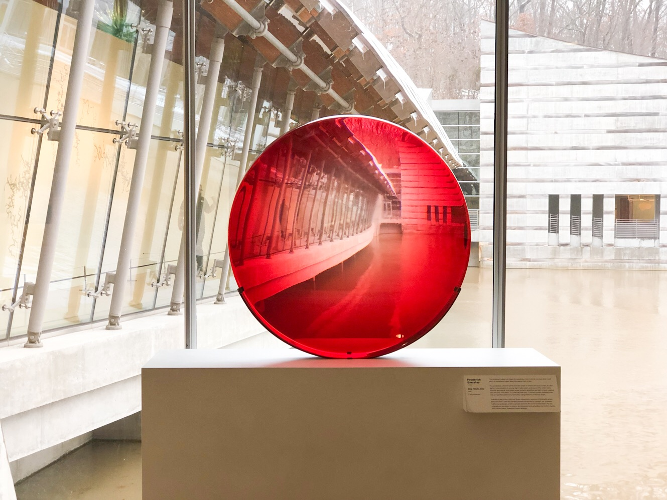 Big Red Lens by Frederick Eversley.