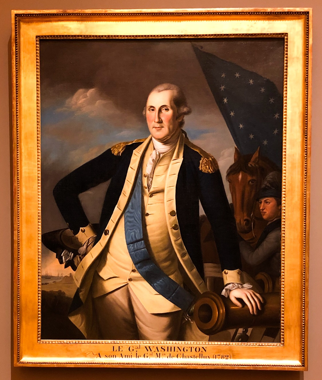 George Washington by Charles Willson Peale.
