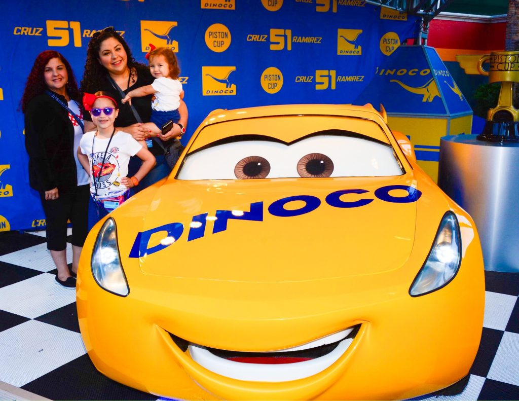Lightning McQueen's Racing Academy with my Family!