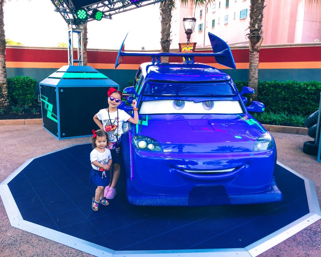 DJ at Lightning McQueen's Racing Academy