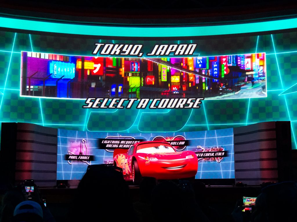Lightning McQueen's Racing Academy -- Screens