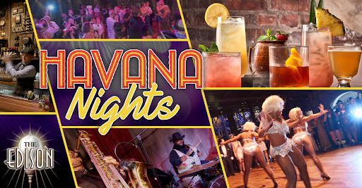 Havana Nights at The Edison in Disney Springs.