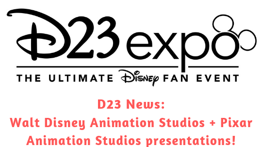 d23 news walt disney studios and pixar studios panels and presentations