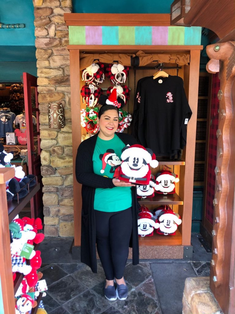 The holidays at Disney's Animal Kingdom include adorable holiday merchandise!